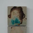 """Iš serijos """"Būsenos"""", 15x15 cm/15x15 cm, mišri technika, 2012"""