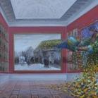 """Impresionistinis antivirusas"" dr.al. 110x160cm, 2012m."