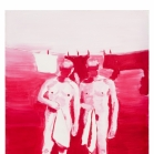 Karminas, aliejus ant drobes, 70x90 cm, 2012