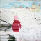 """""""Laukai prie Vilnelės"""", aliejus, drobė, 138x180. 2013 m."""