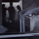 """iš serijos """"Paralelės"""" drobė, aliejus, 135x85cm, 2013 m."""