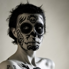 Bodyart project: La Calavera Catrina / The Elegant Skull  Modelis : La Calavera Catrina Fotografas : Mantas Puida  Body-art'as : Shaltmira