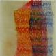 summa (5) 2012, akvarelė, parafinas, milimetrinis popierius, 54 x 88 cm