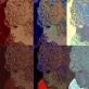 """Iš ciklo """"Make-up"""" Tai Bridžit Bordo portretas, pirmiausiai nupieštas flomasteriais veliau apdorotas nuotraukos redagavimo priemonėmis. Šis ciklas skirtas parodyti, kad dailininkas neišvengiamai turi susidurti su visuomenės grožio siekimu."""