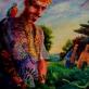 Three Kings, Popierius/akrilas/skaitmenine spauda ant plastiko 2012.