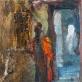 """""""Nusileidimas į Gangą"""" Drobė, aliejus 105x75 cm, 2012 m."""