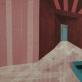"""Iš ciklo """"Sukonstruoti pojūčiai"""", drobė, aliejus, anglis, medicininis bintas. 150cm x 100cm, 2013m."""