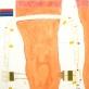 Kosminis kūnas. 2011. Popierius, mišri technika, 80x55 cm
