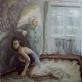 Nesuderinamumas, drobė, aliejus. 150x170 cm, 2012