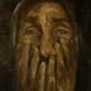 Aliejinė tapyba. Skausmas.100x120