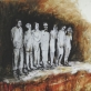Praraja, putoplastas, tušas. 51,5 x 66 cm, 2011