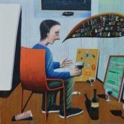 "Alexej Gordin, ""Vienas studijoje"" (2017)"