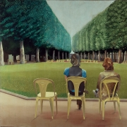 "David Hockney, ""Park sources, Vichy"" (1970)"