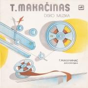 """Teisučio Makačino plokštelė """"Disko muzika"""" (1982)"""