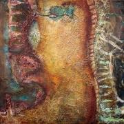 Linos Zareckaitės tapybos darbas
