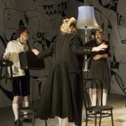 """""""Korektūros klaida"""", nuotr. iš Kauno miesto kamerinio teatro archyvo"""