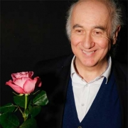 """Paulas Hertelis po spektaklio """"Imperatoriaus rožė"""". B. Palffy nuotr."""