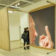 """Ray Bartkus """"Pusiausvyra. Žmogaus gimimas"""". 2011 m. J. Lapienio nuotr."""