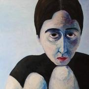"""Regina Pečiulytė, parodos """"Gailestingumas"""" eksponatas, nuotr. organizatorių"""
