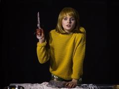 """Greta Šepliakovaitė spektaklyje """"Būtis nr. 2"""". G. Matiuko nuotr."""