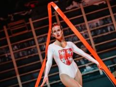 """Justina Vanžodytė (Marina) spektaklyje """"Borisas Godunovas"""". D. Rimeikos nuotr."""