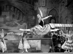 """Loreta Bartusevičiūtė balete """"Don Kichotas"""". M. Raškovskio nuotr."""
