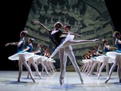 "Scena iš koncerto ""Vive le ballet"". M. Aleksos nuotr."