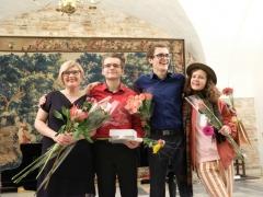 Raminta Gocentienė, Augustas Gocentas, Benas Gocentas, Rusnė Gocentaitė. Nuotrauka iš asmeninio archyvo