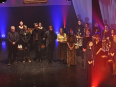 X Dalios Tamulevičiūtės profesionalių teatrų festivalio uždarymas. Varėnos kultūros centro nuotr.