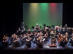 Baltijos šalių akademijų orkestro koncertas Nacionaliniame dramos teatre. D. Matvejevo nuotr.