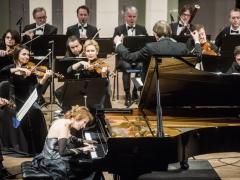 Mūza Rubackytė, Robertas Šervenikas, Lietuvos kamerinis orkestras. D. Matvejevo nuotr.