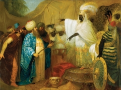 """Pranciškus Smuglevičius, """"Persų pasiuntiniai pas Etiopų karalių"""". LNDM"""