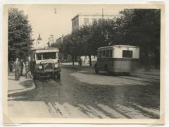 Pėsčiomis ir autobusu