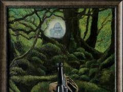 """Darius Bastys, """"Angelų medžioklė"""". 2017 m. A. Kisarauskaitės nuotr."""