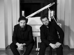 Brolių Bazarų fortepijoninis duetas. Asmeninio archyvo nuotr.