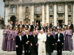 """Jono Pauliaus II šimtmečio minėjimas su """"Polifonija"""""""