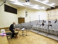 Chorinė muzika sklinda virtualiai