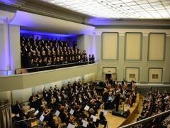 Kauno choras, Lietuvos nacionalinis simfoninis orkestras ir solistai. R. Koncevičiaus nuotr.