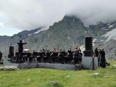 """Orkestras """"Le Balcon"""", dirigentas Maxime Pascal. Y. René nuotr."""