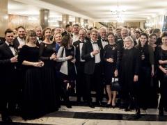 Po koncerto Varšuvos filharmonijoje. D. Matvejevo nuotr.