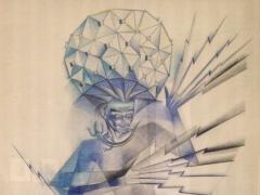 """Zofia Stryjenska, """"Perkūnas"""". 1934 m."""