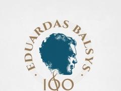 Prasidėjo Eduardo Balsio šimtmečio metai