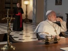 """Kadras iš filmo """"Naujasis popiežius"""""""