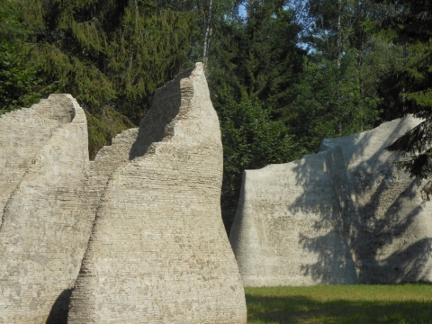 """Gintaras Karosas. """"Kultūra"""". Fragmentas. 2012 m. Autorės nuotrauka"""