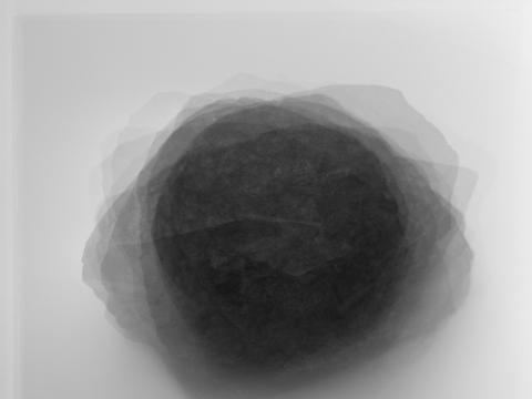 """Dovilė Dagienė, """"Viltis#1. Nepatvirtinto autentiškumo meteoritiniai akmenys"""". 2018 m."""