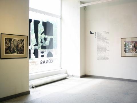 """Parodos """"Raumenys"""" ekspozicijos fragmentas. A. Lekytės nuotr."""