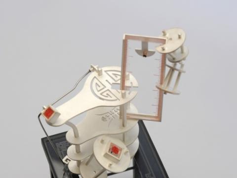 """Bifei Cao (Australija), """"Ilgaamžiškumas"""". 2013 m. J. Kuhnen nuotr."""