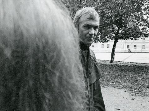 Eimuntas Nekrošius. 1979 m. A. Kunčiaus (Lietuvos teatro, muzikos ir kino muziejus, A 16.880) nuotr.