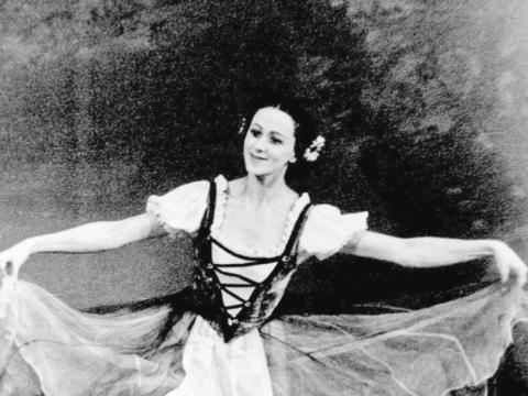 """Genovaitė Sabaliauskaitė balete """"Žizel"""". LATGA nuotr."""