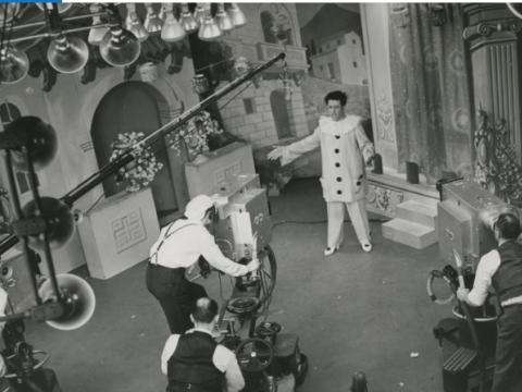 "1940 m. koncertas studijoje. ""Metropolitan opera"" nuotr."